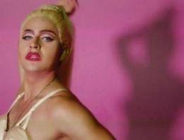 Madonna'ya benzemek isteyen adam!