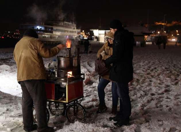 Istanbul da kar çilesi devam ediyor foto galerisi 14 19 şubat