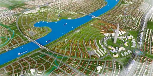 Kanal İstanbul - Forrás: kanalistanbulprojesi.gen.tr