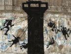 Gazze'nin duvarlarına İngiliz sanatçı eli