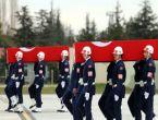 Şehit pilotlar için Eskişehir'de askeri tören