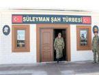 Genelkurmay Başkanı Süleyman Şah Saygı Karakolu'nda