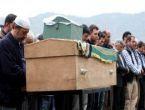 Beton mikserin ezdiği anne ve bebeğinin cenazesi