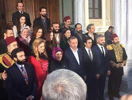 Erdoğan Filinta dizisinin setini gezdi
