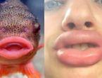 Kendini balığa benzeten kızlar