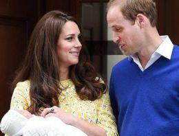 Kraliyet ailesinin yeni bebeğinin ismi belli oldu