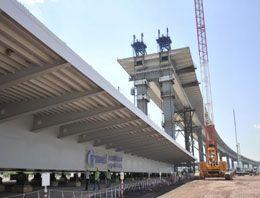 Körfez Köprüsü inşaatında sona doğru