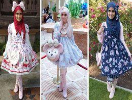 Müslüman genç kızların çılgın modası