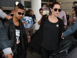 Angelina Jolie'den oğluna ders