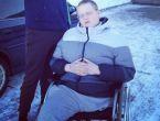 Bacağı kesildi hayatı değişti