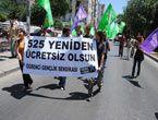 İzmir sokaklarında 525 protestosu
