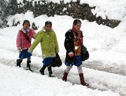 Kar yağışı nedeniyle tatil olan iller