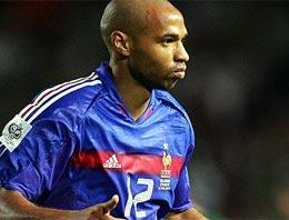 Dünyaca ünlü yıldız futbolcu Thierry Henry tekrar eski takımında