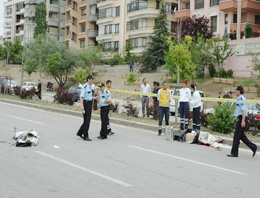 Ankarada feci motosiklet kazası:2 ölü