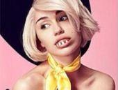 Miley Cyrus bu kanal için soyundu!