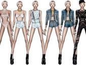 Miley Cyrus'a özel Cavalli tasarımı kıyafetler!