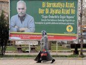 Diyarbakır'da bilborda çıkan Öcalan afişi