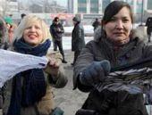 Kadınlardan külotlara özgürlük protestosu
