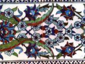 Yeşilköy'de karma resim ve çini sergisi