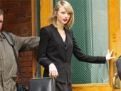 Taylor Swift New York'da yakalandı