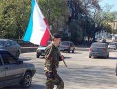 Kırım Tatarları bayrak astı
