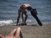 Plaj magandaları sezonu erken açtı!