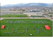 Öğrencilerden Soma'ya destek mesajı