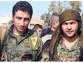Peşmerge ve PKK'lılardan ilginç fotoğraf