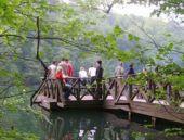 Abant Tabiat Parkı'na ziyaretçi akını