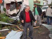 Ardahan'da hortum çatıları uçurdu