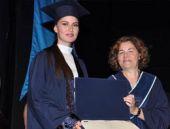 'Çalıkuşu' diplomasını aldı