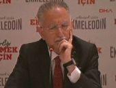 İhsanoğlu gazeteciyi fena bozdu! 'Ekmek' tartışması