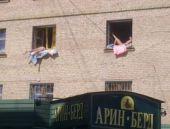 Güneşi gören Ruslar pencereye çıktı