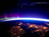 Uzaydan böyle görünüyoruz