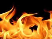 Isınmak için yaktıkları ateşe benzin dökünce
