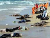 İnsanlık sahile vurdu! İnanılmaz bir görüntü