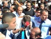 Anıtkabir'de muhabire protesto!
