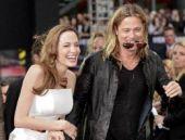 Angelina Jolie'nin sıradışı gelinliği