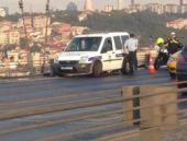 Köprüde intihar girişimine polis selfiesi