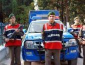 Jandarma Komutanlığı önünde silah sesleri