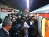 Metroda skandal taciz böyle görüntülendi!