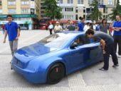 Yüzde 100 yerli tasarım elektrikli otomobil tanıtıldı