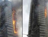 İtfaiye kurtardığı kadını 9. kattan düşürdü!
