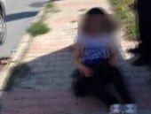 Uyuşturucu alan genç kızın ibretlik hali