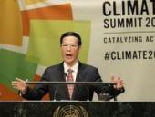 Çin ilk kez karbon emisyonunu azaltma sözü verdi