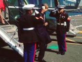 Kahveli asker selamı ülkeyi karıştırdı