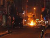 Okmeydanı'nda eylemciler polisi şaşkına çevirdi!