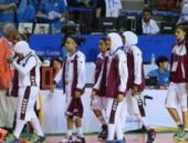 Katar kadın basketbol takımından başörtüsü protestosu