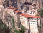 Sümela Manastırı'nda bayram yoğunluğu