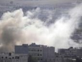 IŞİD'in Kobani'ye intihar saldırısı böyle kaydedildi...